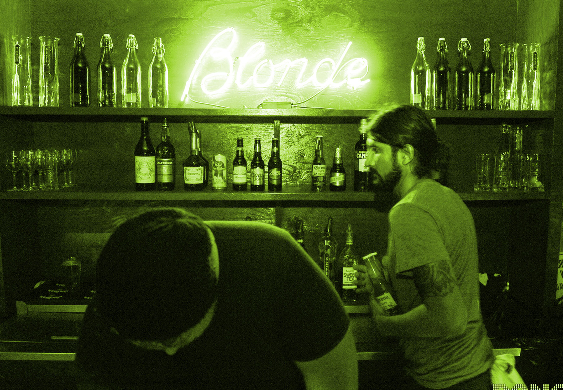 Opening Night of Blonde Bar
